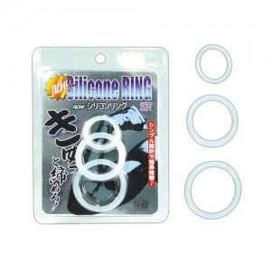 日本MODE*シリコンリング ソフト(ホワイト)猛男屌環
