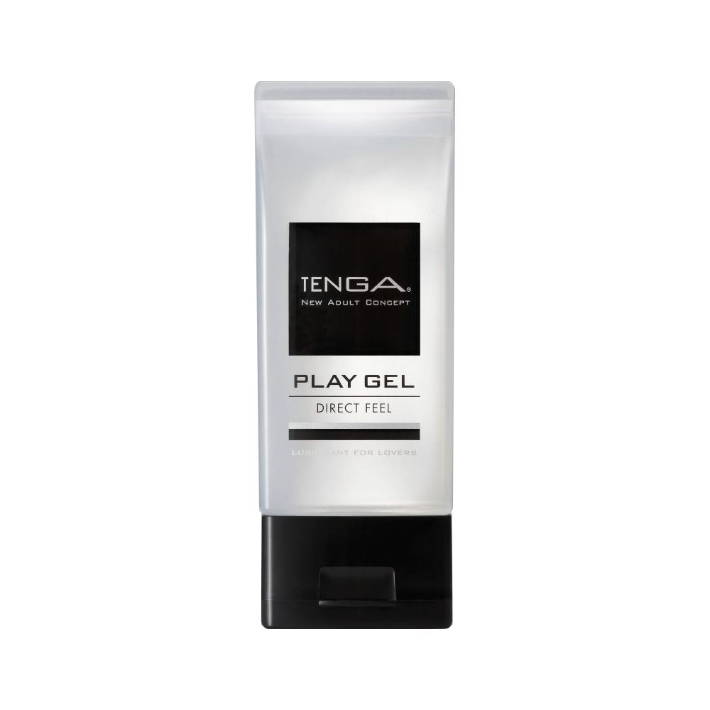 日本TENGA共趣潤滑液 PLAY GEL DIRECT FEEL刺激直達感潤滑液160ML(黑色)
